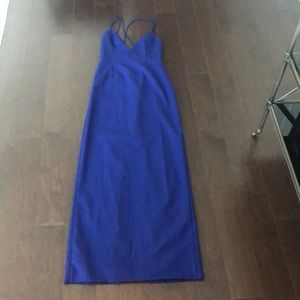 🆕 NBD blue gown size M